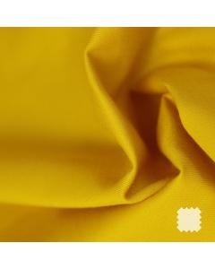 Pružné bavlněné plátno - Zlatá