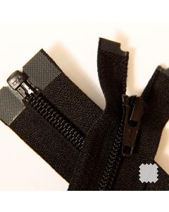 Zip YKK spirálový vel. 5 - černý dělitelný - 50 cm