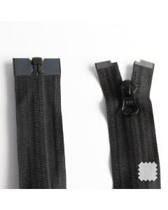 Zip YKK spirálový vel. 5 - černý dělitelný - 75 cm
