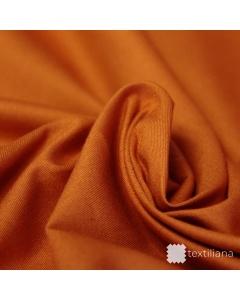Pružné bavlněné plátno - Oranžová