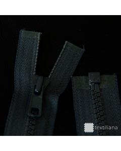 Zip YKK kostěný vel. 5 - tmavě šedý dělitelný - 70 cm