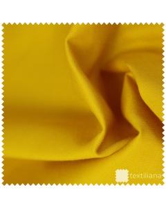 Vzorek - Pružné bavlněné plátno - Zlatá